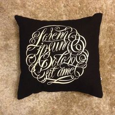 Lorem Ipsum Pillows by Alan Guzman