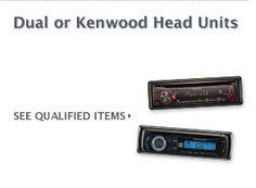 $10 Cash Rebate Dual or Kenwood Head Units    FREE CASH on Auto Parts