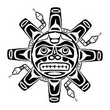 Resultado de imagem para polynesian-tattoo-design-sun-spirits