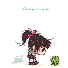 Vanellope and Sour Bill