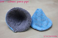 "A new tutorial/DIY for today : how to make your own ""wee-wee proof cones"" for baby boys ! As a future mum of a little boy, all my frie. Coin Couture, Couture Bb, Couture Sewing, Diy Teepee, Tutorial Diy, Diy Bebe, Baby Sewing Projects, Sewing Ideas, Sewing Patterns"