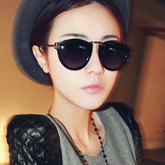 Find More   Information about 2015 Female Vintage Sunglasses Hot Star Style Sun Fashion Glasses Vintage Big box Circle Women's Free Shipping Points women Mg20,High Quality  ,China   Suppliers, Cheap   from Sylviaxuxu's Store on Aliexpress.com