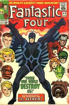 COMIC fantastic four 44 #comic #cover #art