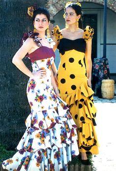 #Flamenco #polkadots #florals