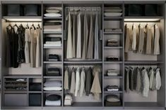 Wardrobe Interior Design Advice - Women's Club - Trend Home Wardrobe Interior Design, Walk In Closet Design, Wardrobe Design Bedroom, Closet Designs, Dressing Room Closet, Dressing Room Design, Walk In Wardrobe, Bedroom Wardrobe, Wardrobe Ideas