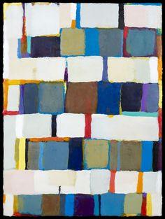 kathleen waterloo, The Violet Hour / encaustic on panel / 24