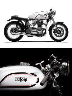 Forty years old, and still turning heads. Is there anything quite as cool as an original Triton cafe racer? Click to see more incredible photos.