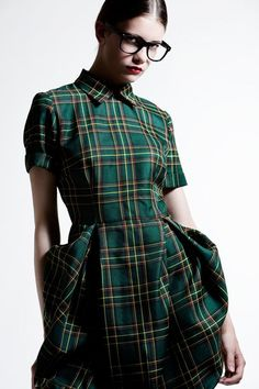 I don't know why this girl has such a stick up her ass - how can you be angry wearing a dress this adorable?