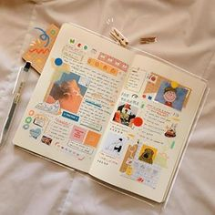 """do we have any august babies here? // + this is probably my most colourful spread yet :"""") oops Bullet Journal Notes, Bullet Journal Aesthetic, Bullet Journal Ideas Pages, Bullet Journal Spread, Bullet Journal Inspiration, Art Journal Pages, Scrapbook Journal, Journal Layout, My Journal"""
