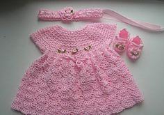 Crochet Baby Dresses