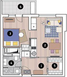 Перепланировка Как из однушки сделать двушку: проект перепланировки в доме