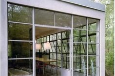 Steel French Doors with Custom Panels