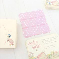 Girls, First Birthday JEMIMA PUDDLEDUCK | Imprintables
