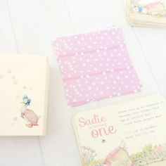 Girls, First Birthday JEMIMA PUDDLEDUCK | Imprintables