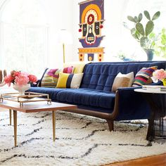 Midcentury Modern Decor via Hunters Alley