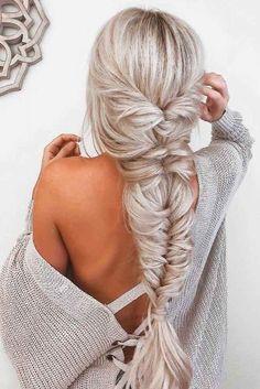 28 cute simple hairstyles for long hair - hair styles - Hairstlyes Cute Simple Hairstyles, Easy Hairstyles For Long Hair, Braids For Long Hair, Hairstyle Ideas, Blonde Hairstyles, Hairstyle Tutorials, Prom Hairstyles, Pretty Hairstyles, Hair Ideas