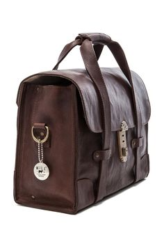 e96f58e8ce906 WILL Leather Goods Everett Satchel Leather Bag in Brown