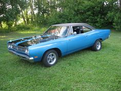 1969 Plymouth Roadrunner, numbers matching, 383HP factory option, auto, fresh, new wheels