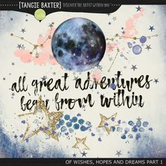 Tangie Baxter Art Journal Of Wishes Hopes and Dreams