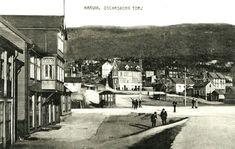 Nordland fylke Narvik Oscarsborg Torv 1920-tallet