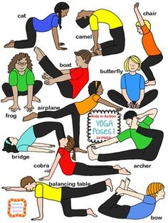 Theyre back! Kids in Action: Yoga Poses 1' is filled with the same adorable and…