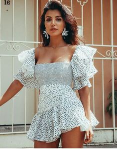 Rimini Dress - The Island Culture Cute Dresses, Beautiful Dresses, Short Dresses, Summer Dresses, Party Dresses, Chic Outfits, Trendy Outfits, Fashion Outfits, Ruffle Dress