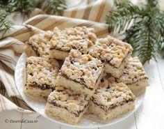 Prajitura frageda cu gem si nuca (de post) - DesertdeCasa.ro- Maria Popa Cake Decorating, Gem, Sweets, Jewels, Gemstone, Gemstones