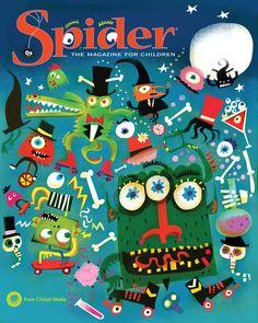Image result for spider magazine cover