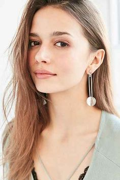 Stationary Circles Drop Earring - Urban Outfitters