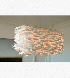Scabetti | Installations | Rectangular Shoal, New York- INCREDIBLE light fixture!