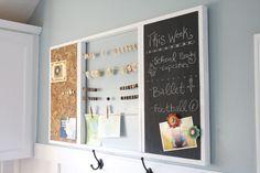 DIY Family Command Center - The Handmade Home