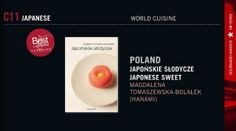 "I'm very happy to share the news that my book ""Japońskie słodycze"" (Japanese sweets) won #Gourmand World Cookbook #Awards 2013 in the category: Best #Japanese Cuisine Book."