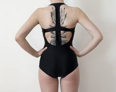 Bring on the interesting tan lines -- I love the shape of this bathing suit from minn0wbathers in Toronto, Canada