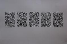 Printmaking | Girl In Curls