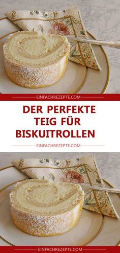 The perfect dough for biscuit rolls 😍 😍 😍 - Kuchen - Dessert Chocolate Cheesecake Recipes, Baked Cheesecake Recipe, Chocolate Icing, Chocolate Coating, No Bake Desserts, Easy Desserts, Easy Cake Recipes, Dessert Recipes, Biscuits