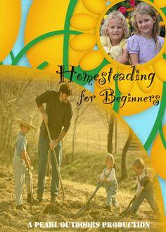 Homesteading for Beginners Vol 1 www.bulkherbstore...