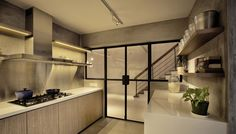 G Maisonette is a minimalist house located in Location: Singapore, designed by 0932. The project has a total floor area of 1570 sqft, and is...