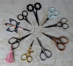 Scissors, scissors, scissors ...