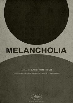 Melancholia -Poster- by Julien Sans, via Flickr