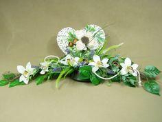 ORCHIDEA SERCE wiklina SUSZ 1061.5 stroik na grób cmentarz Kompozycje kwiatowe Marko604