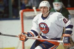 The Islanders' and the League's most dangerous scorer. Bossy scored 50 goals in every year but his final, and retired at the age of Oh, and he won four Stanley Cups. Not bad. Team Player, Hockey Players, Mike Bossy, Mark Messier, Hockey World, Good Old Times, Carolina Hurricanes, New York Islanders, Nfl Fans