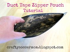 Crafty Soccer Mom: Duct Tape