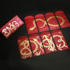 year of snake - red packet