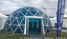 Glass domes for sale - PC domes for events - Geodesic domes with polycarbonate panels - Geodesic dome houses - Greenhouse domes for sale - Shelter Dome (2)