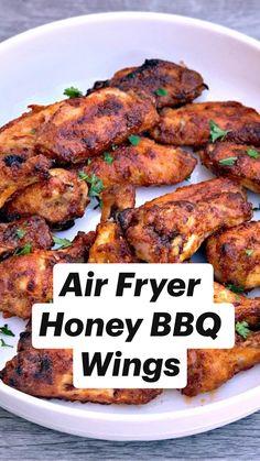 Air Fryer Oven Recipes, Air Frier Recipes, Air Fryer Dinner Recipes, Recipes Dinner, Health Chicken Recipes, Simple Recipes For Dinner, Air Fryer Recipes Chicken Wings, Best Dinner Recipes Ever, Air Fryer Chicken Thighs