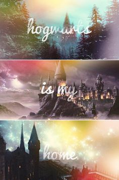 #Hogwarts is my home.