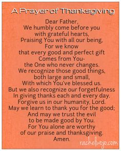 Thanksgiving day prayer so here we have mentioned the different Thanksgiving day prayers. Please read the complete article on simple Thanksgiving prayer.