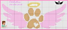 Especie Animal, Dog Pattern, Dog Memorial, Cross Stitch Animals, Counted Cross Stitch Patterns, Hobbies And Crafts, Hama Beads, Cross Stitching, Quilts