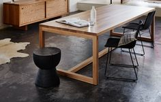 Mark Tuckey's cult furniture pieces get a new Scorched look.