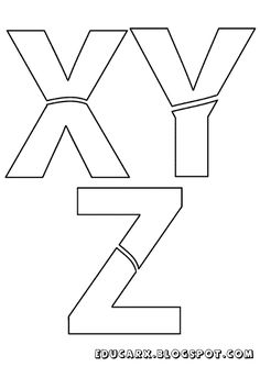 Moldes-de-Letras-XYZ.png (451×640)
